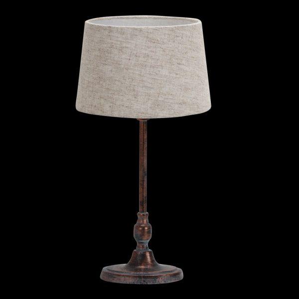 Lámpara de mesa metal pantalla Guppy
