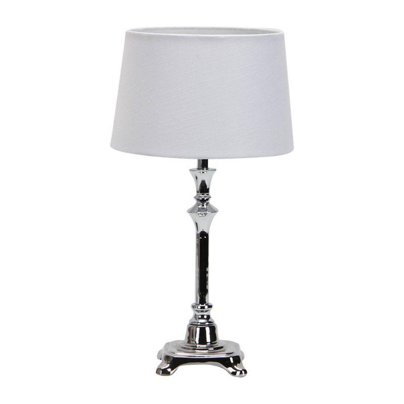 Lámpara de mesa metal pantalla Molly