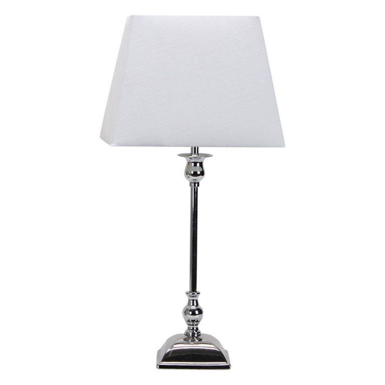 Lámpara de mesa metal pantalla Percasol