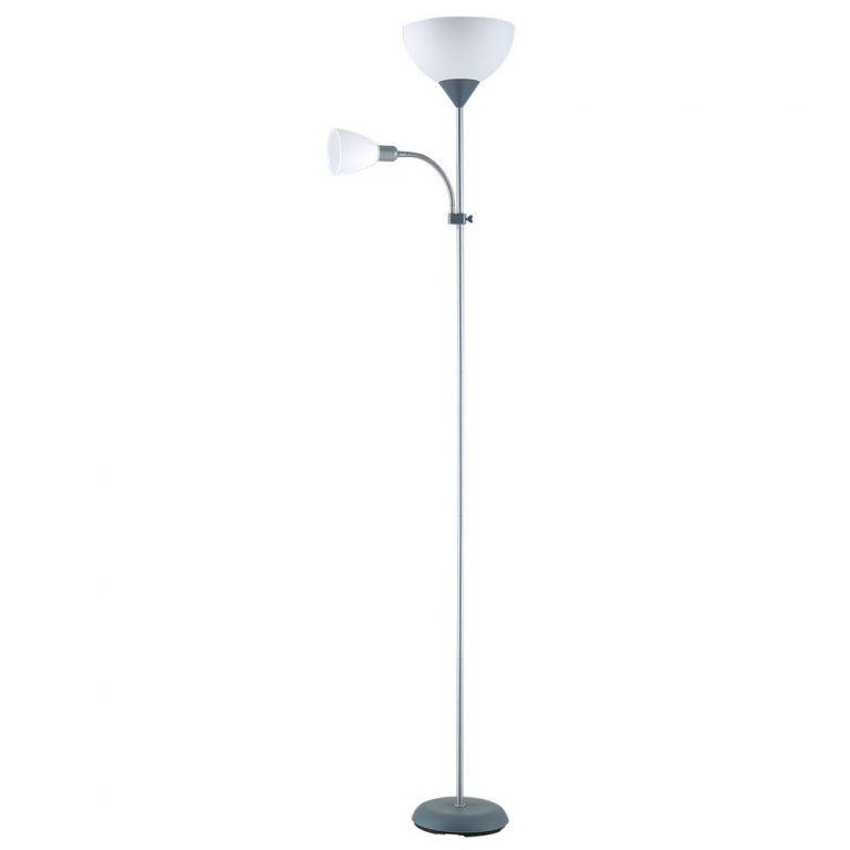 Lámpara suelo salón 2 luces Rigel