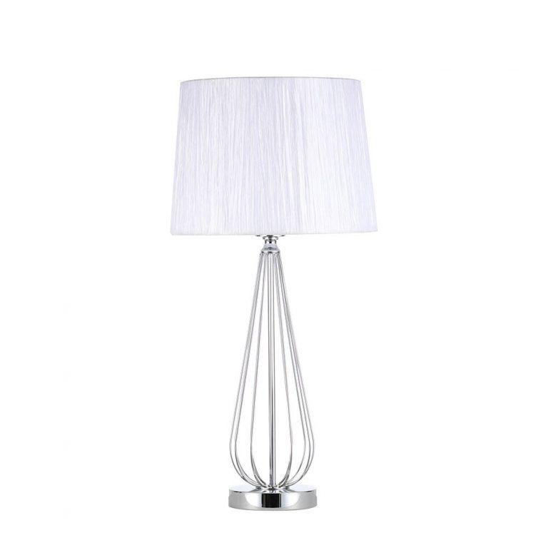 Lámpara de mesa metal con pantalla Robina