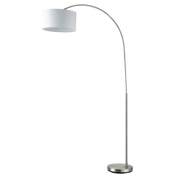 Lámpara de suelo brazo arco pantalla Polux