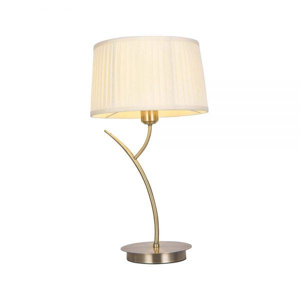 Lámpara de mesa con pantalla plisada Magni