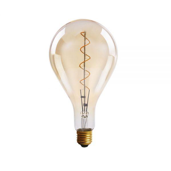 Bombilla decorativa vintage filamento led espiral Standar