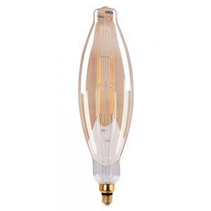 Bombilla decorativa vintage filamento led Vela