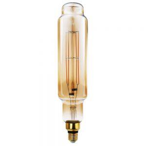 Bombilla decorativa vintage filamento led Tubular