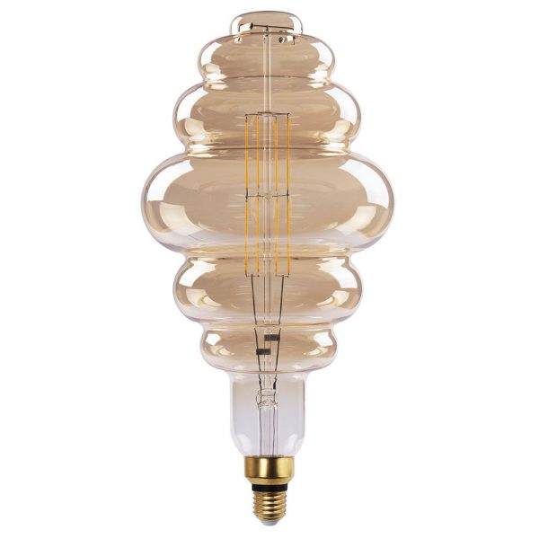 Bombilla decorativa vintage filamento led Panal
