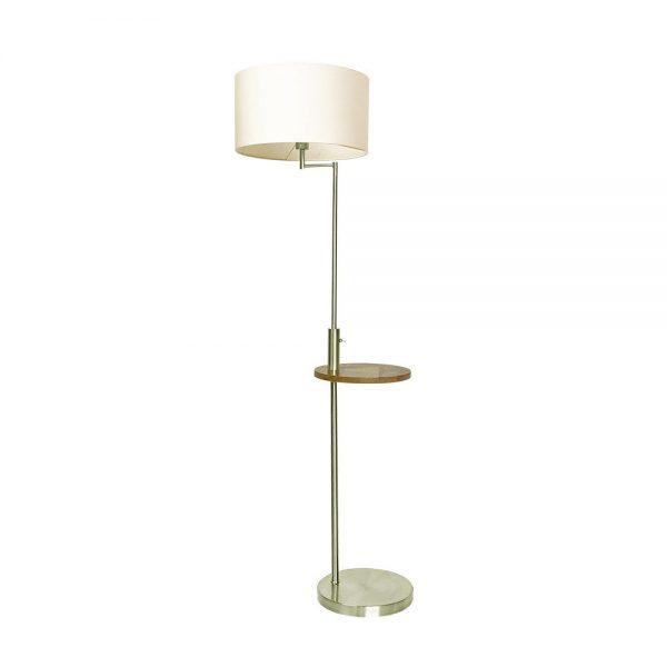 Lámpara suelo con mesa y pantalla Sirio