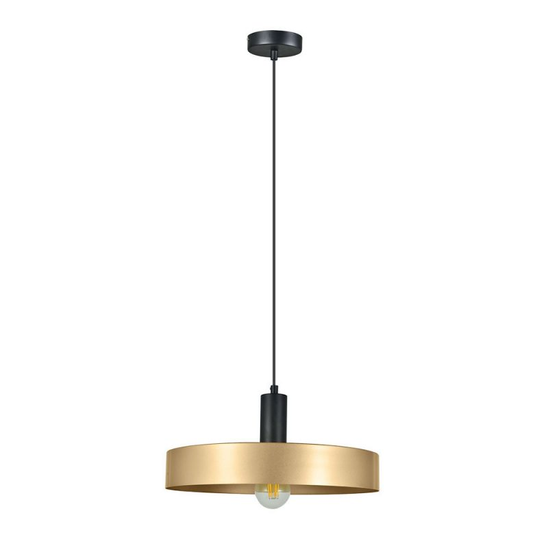 Lámpara colgante 1 luz metal aluminio Allende
