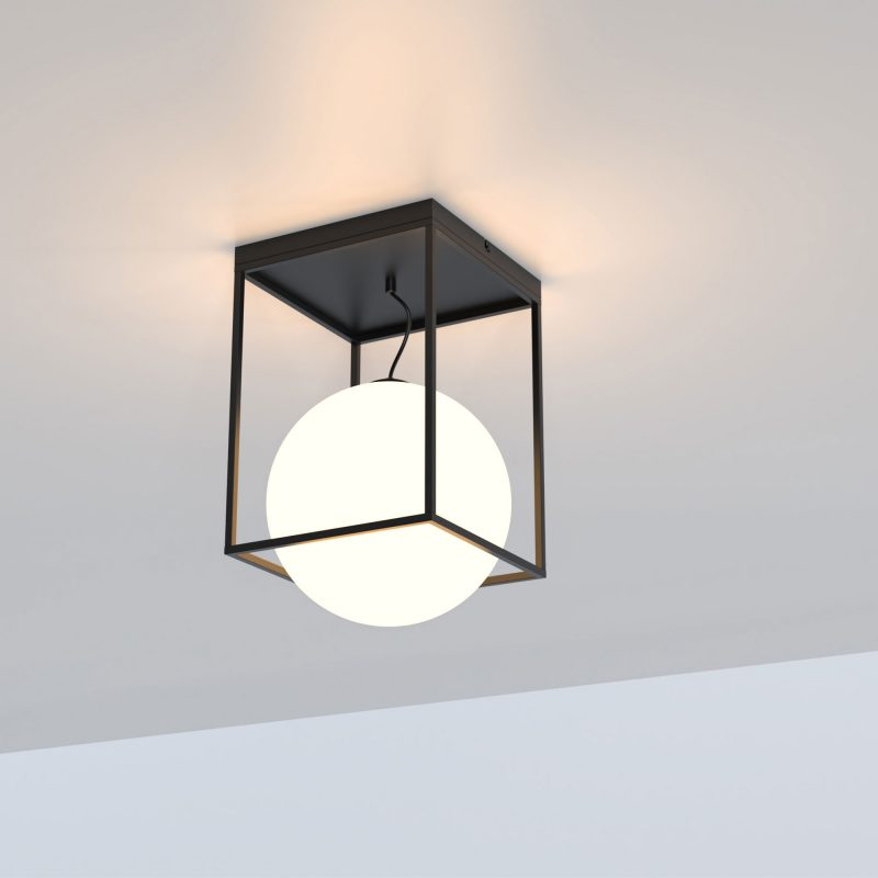 Plafón 1 luz cristal en suspensión opal 405 Desigual