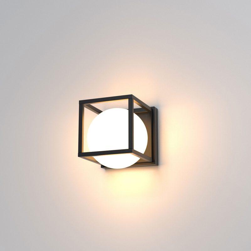 Aplique pared 1 luz cristal opal 130 Desigual