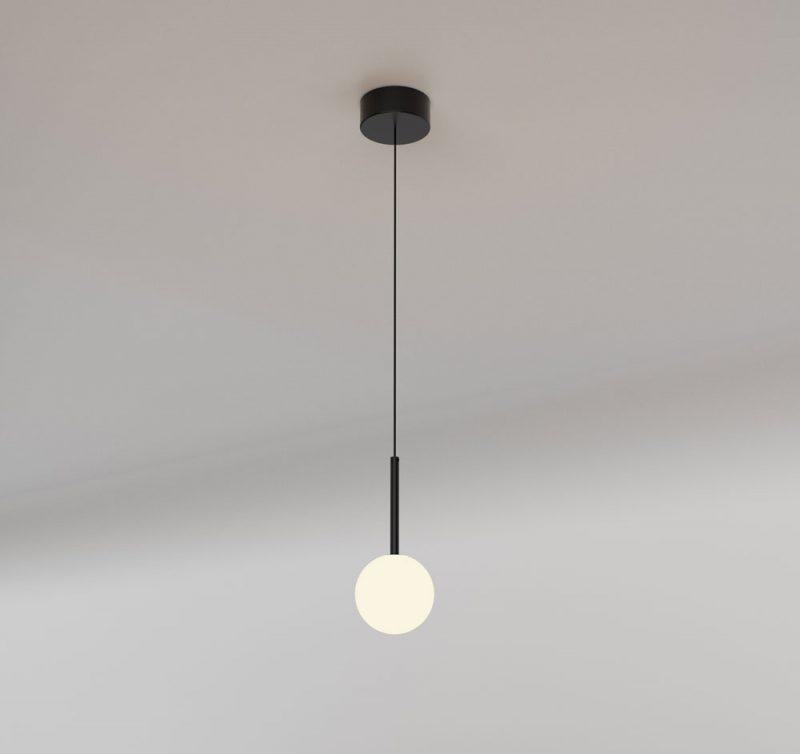 Lámpara techo colgante 1 luz tulipa esférica Cellar