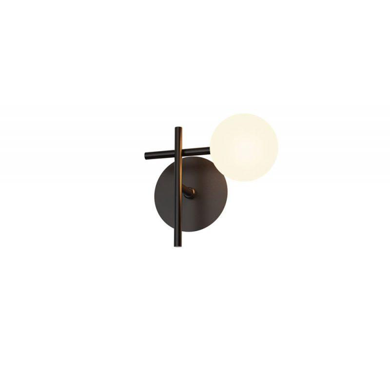 Lámpara pared 1 luz tulipa esférica Cellar