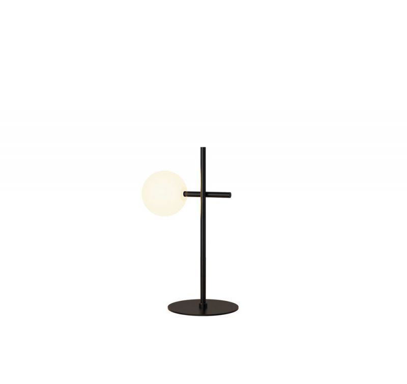 Lámpara mesa 1 luz tulipa esférica Cellar